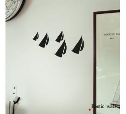"""STICKER """"LA REGATE"""" - Poetic wall® by Mel et Kio"""