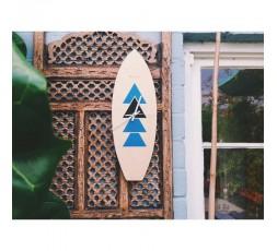 HORLOGE SURF EN BOIS - WOODSTACHE