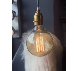 AMPOULE FILAMENT DECORATIVE MAXI GLOBE AMBRE 40W