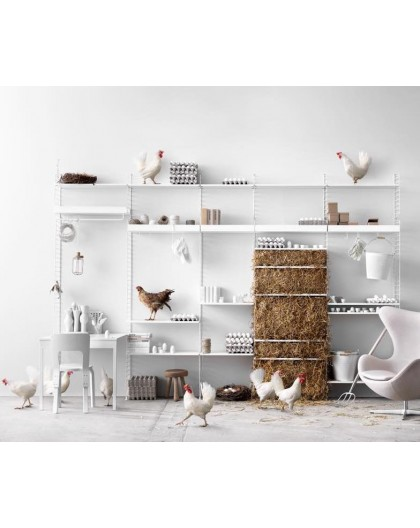 SYSTEME D'ETAGERES MODULABLES - STRING FURNITURE