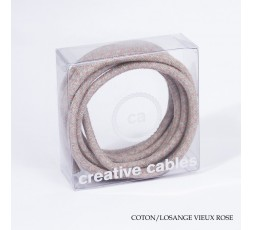CABLE TEXTILE ROND - CREATIVE CABLE