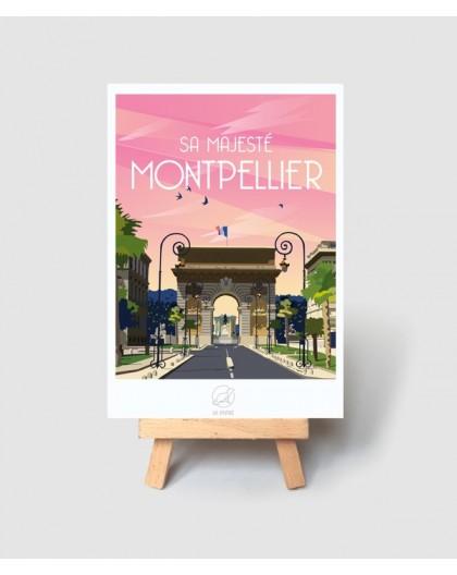 CARTE POSTALE MONTPELLIER - LA LOUTRE